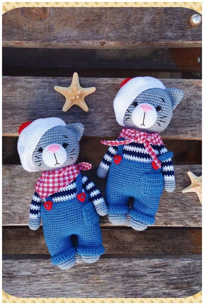 Crochet Baby Mobile Meow Meow Kitten Cat baby mobileCat | Etsy | 1024x683