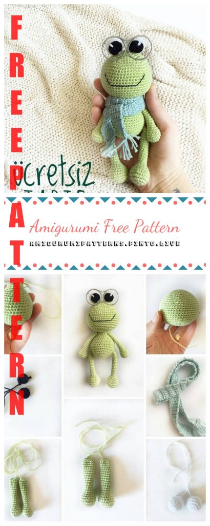 Marshall the Frog - A Free Crochet Pattern - Grace and Yarn   1024x410