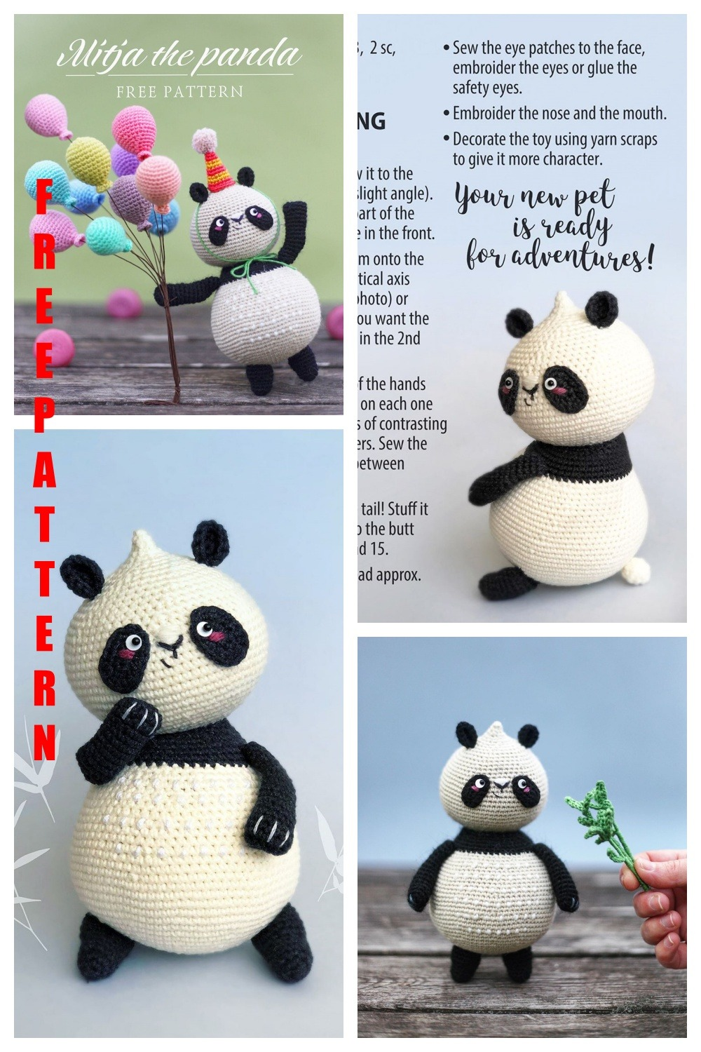 Amigurumi for Beginners Eyes Embroidery Tutorial for Crochet ... | 1500x1000