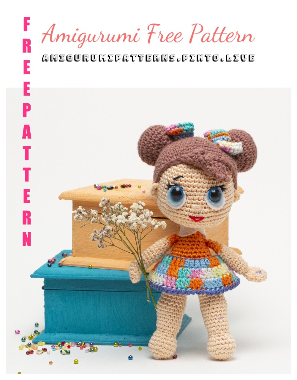 Ravelry: LOL Surprise Doll (Sugar) pattern by Cherry Brown | 1280x1000