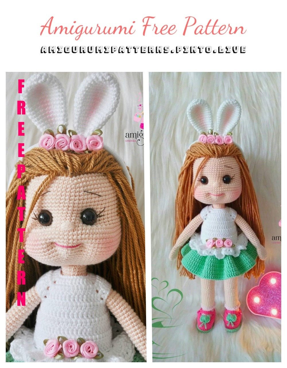 Free Crochet Patterns and Designs by LisaAuch: Little Crochet Red ... | 1280x1000