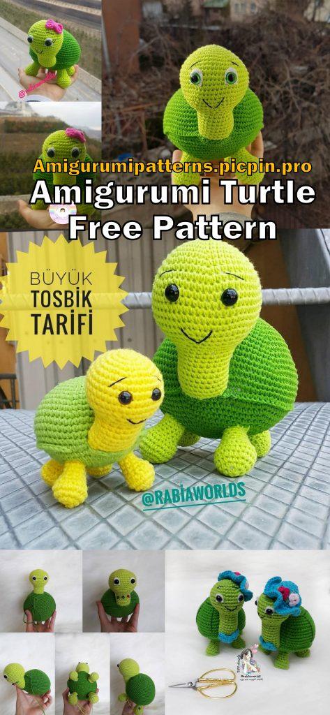 Baby Turtles Crochet Patterns Free | Styles Idea | 1024x473