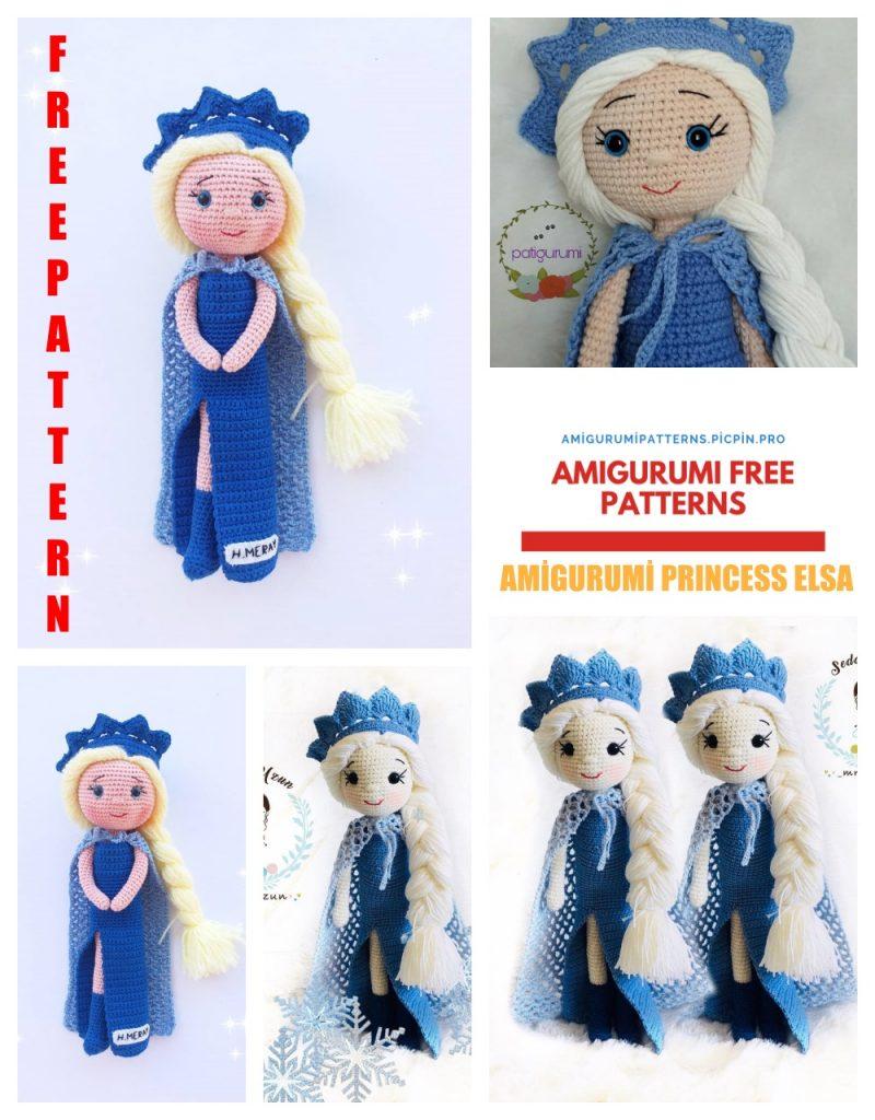 Amigurumi Princess Doll in Cape Crochet Free Pattern - Part 1 ... | 1024x800