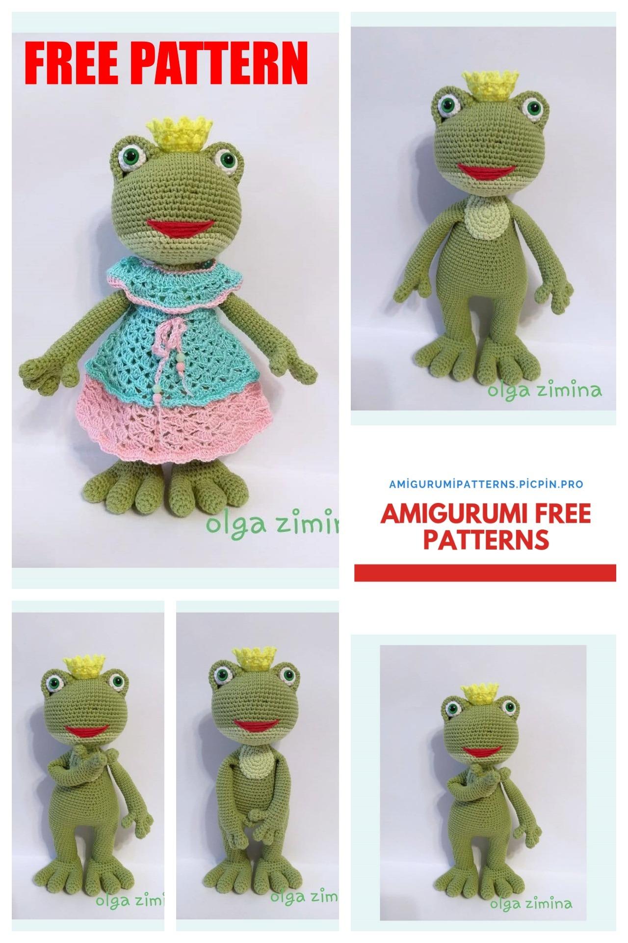 Froggy Amigurumi Pattern Frog Crochet Pattern - PDF file only ... | 1920x1280
