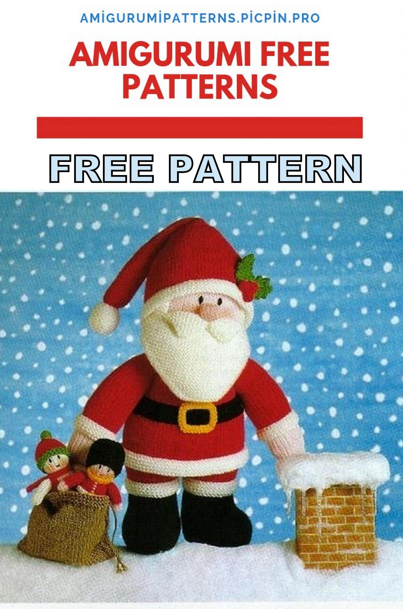 10 Free Santa Crochet Patterns | 2560x1694