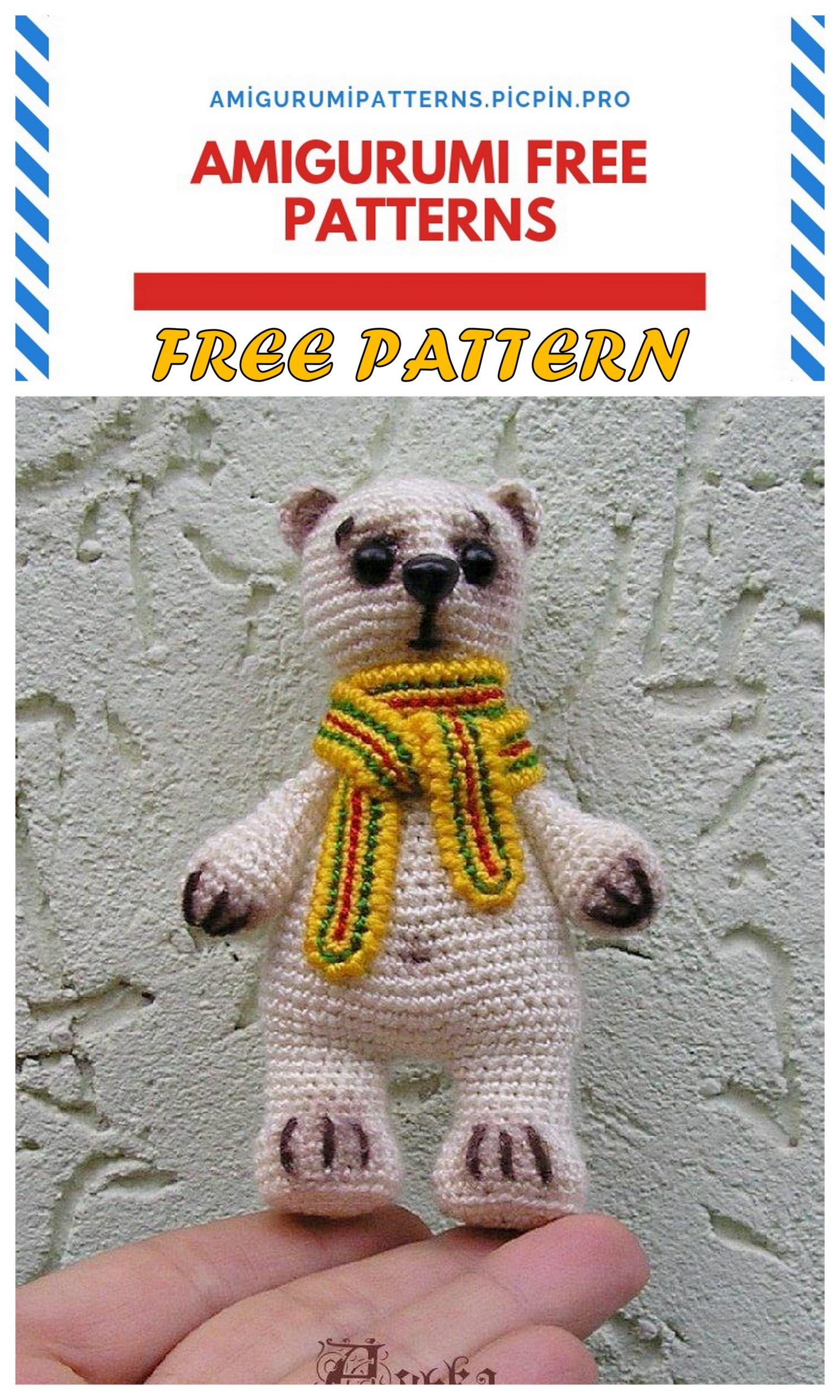 Amigurumi Crochet Teddy Bear Toys Free Patterns | 2560x1536