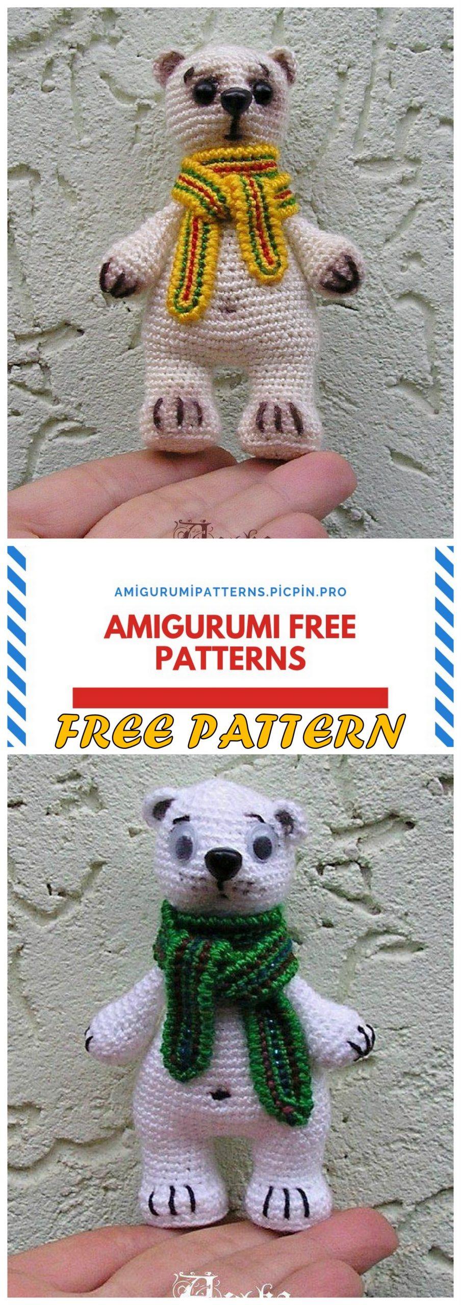 CROCHET BEAR arşivleri - Amigurumi Free Pattern Shares | 2560x904