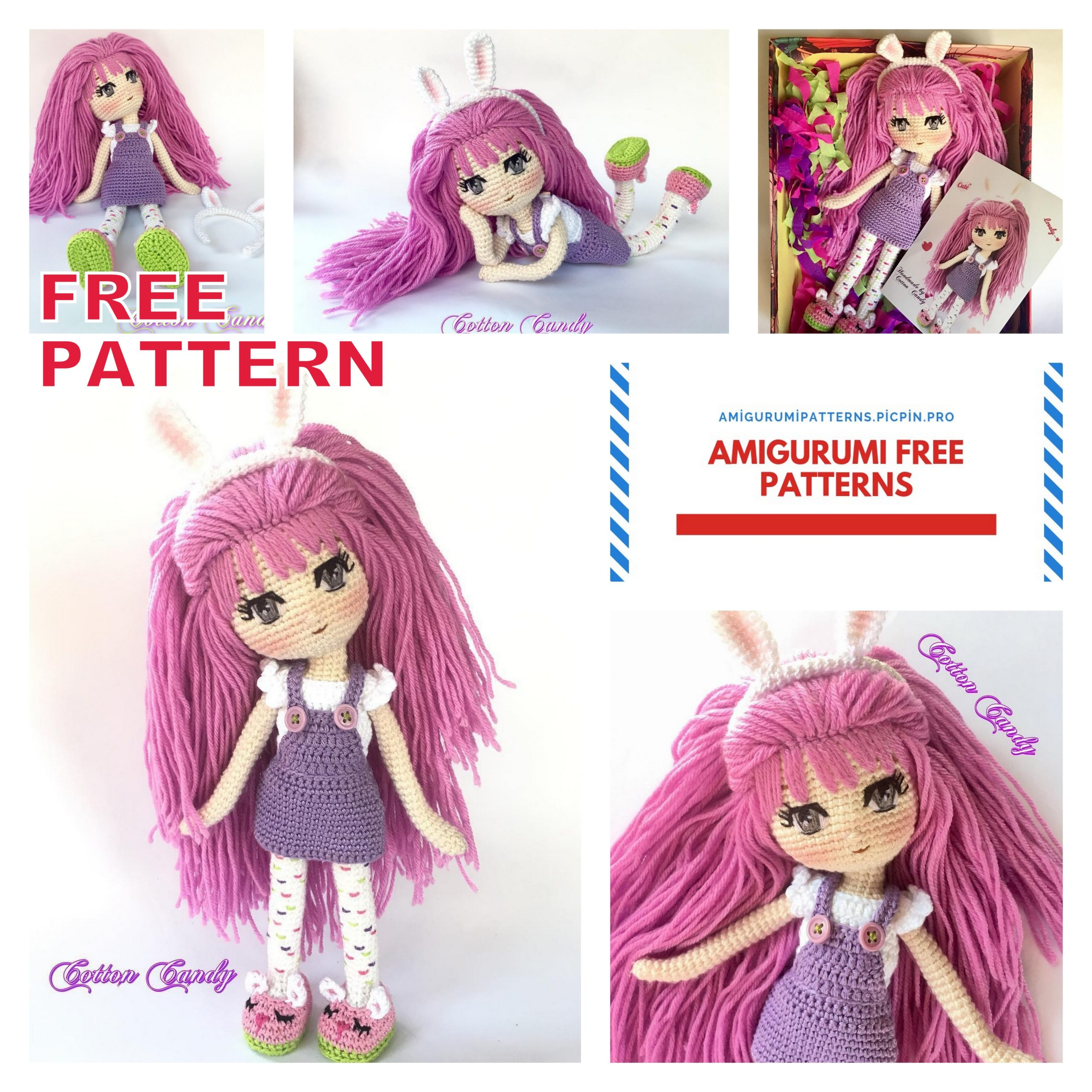 Amigurumi Doll Zeynep Free Crochet Pattern - Amigurumi Free Patterns | 2560x2560