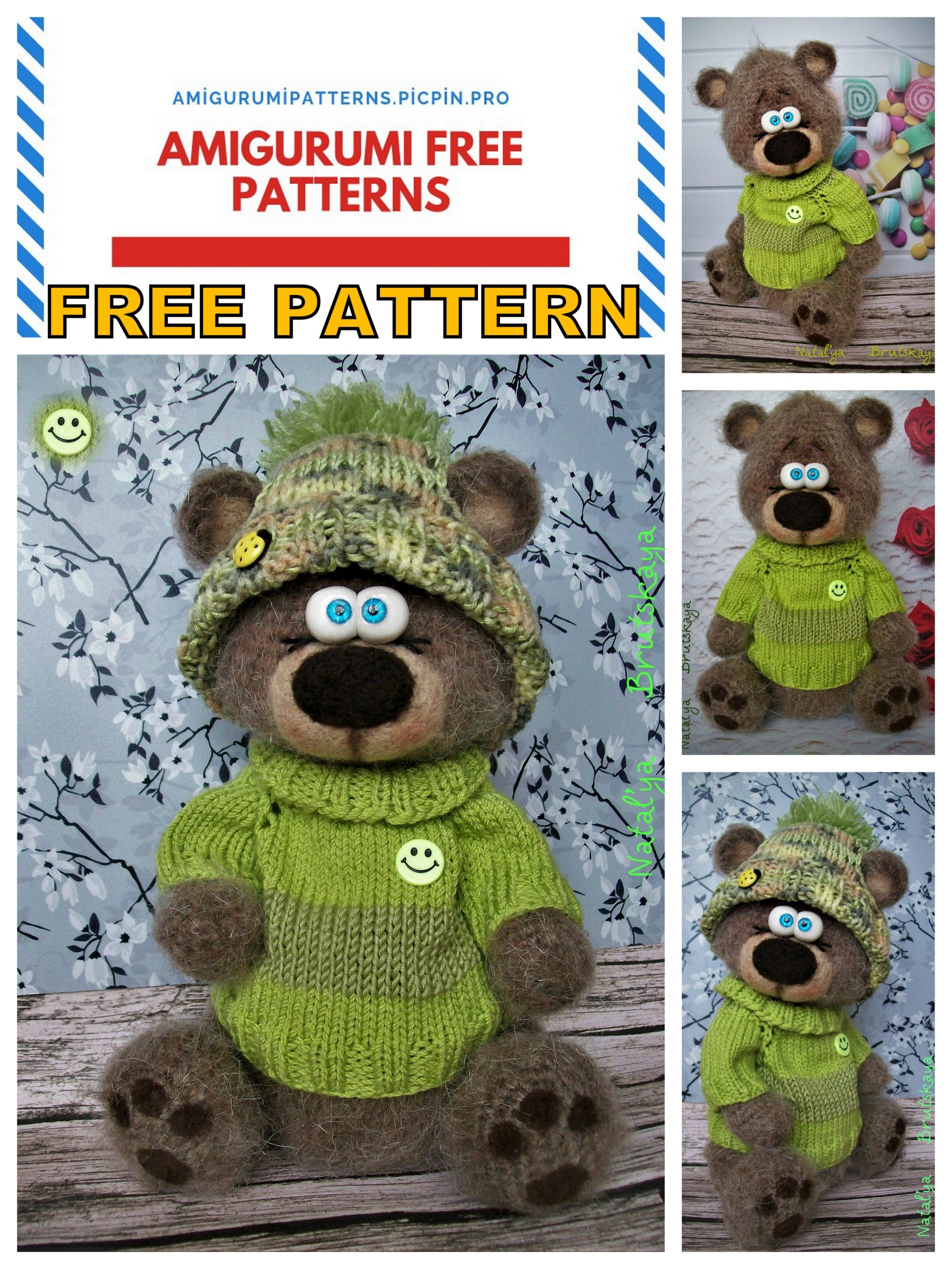 15 Crochet Teddy Bear Patterns | 2560x1921