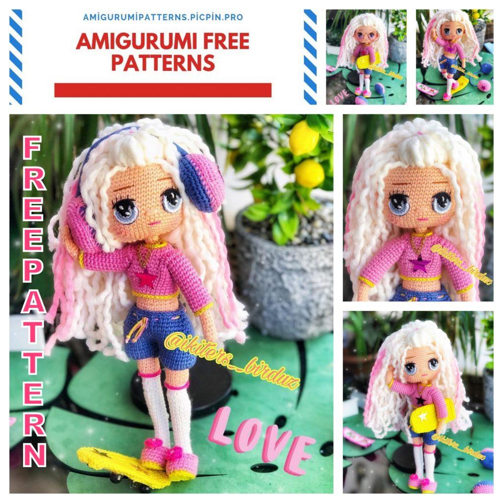 Amigurumi Smryna Doll Free Crochet Pattern