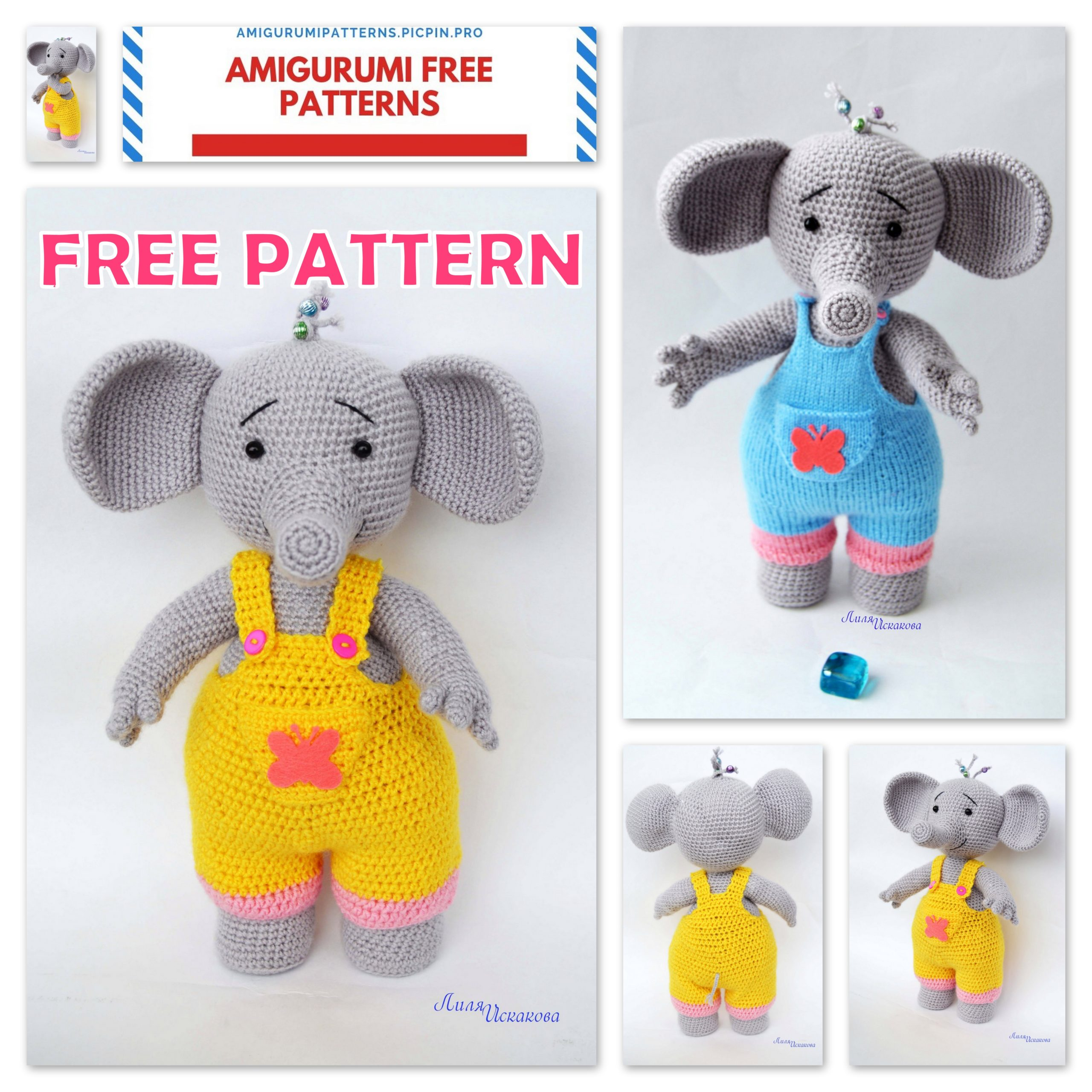 The Sweetest Crochet Elephant Patterns To Try | The WHOot | 2560x2560