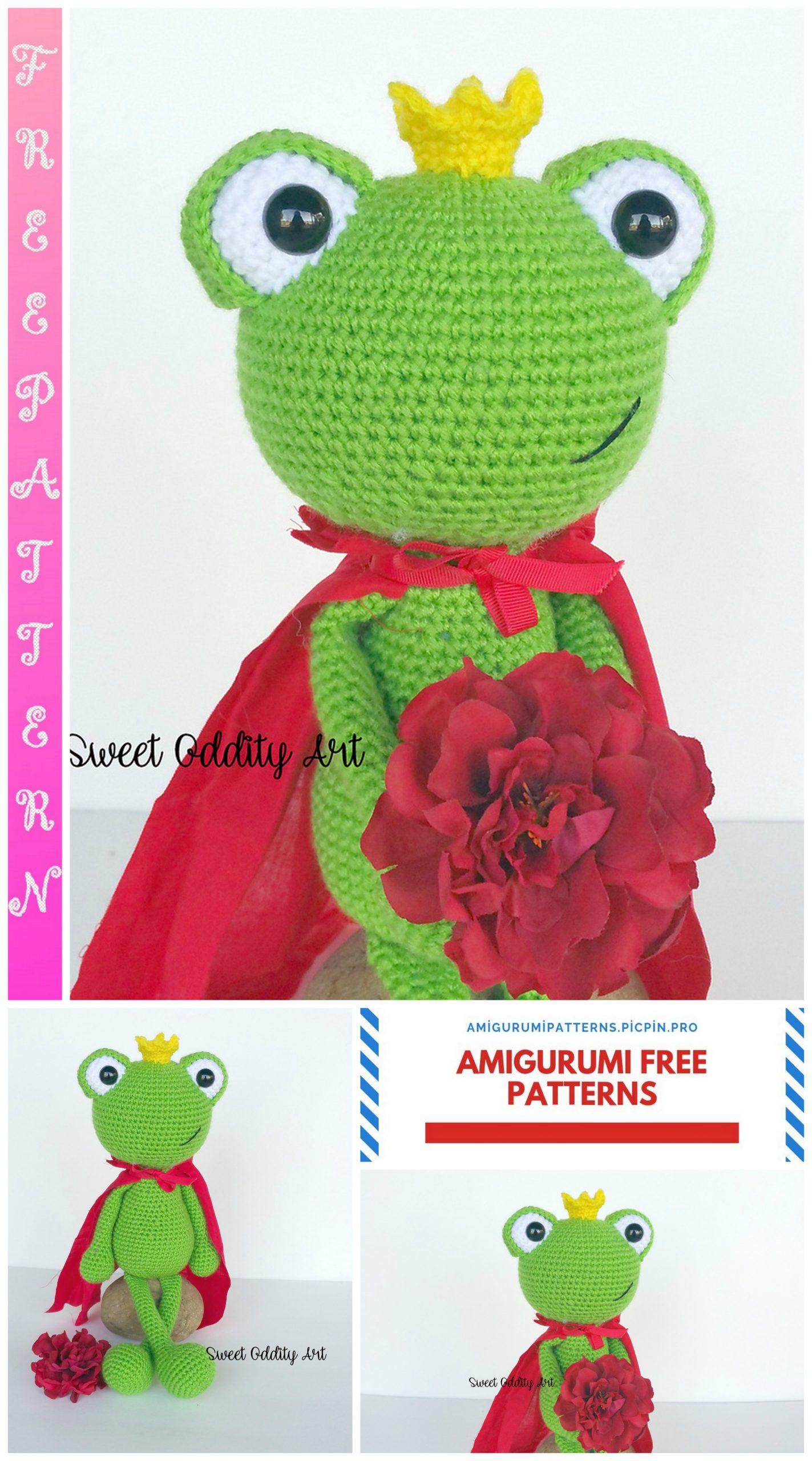 Amigurum Frog Free Crochet Pattern - Crochet.msa.plus | 2560x1423