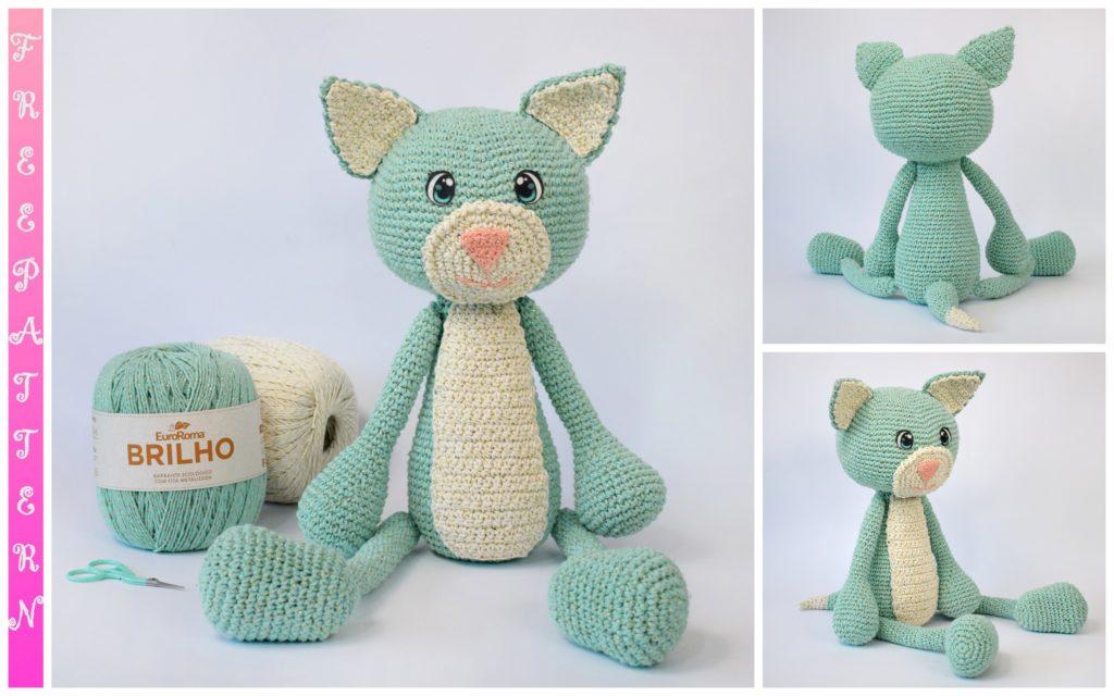 Amigurumi Cat Felix Free Crochet Pattern