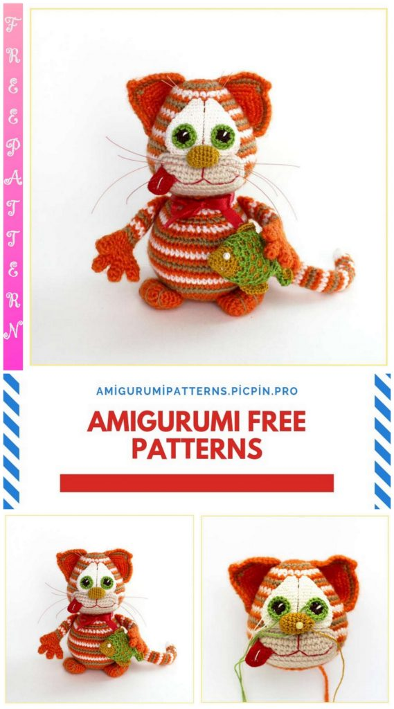 Amigurumi Cat March Free Crochet Pattern