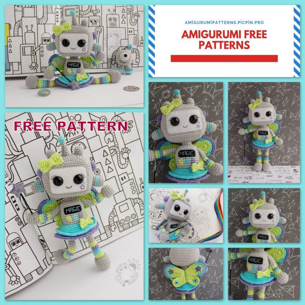 Amigurumi Robot Free Pattern