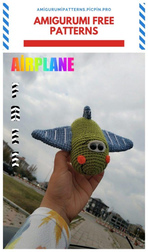 Amigurumi Airplane Free Crochet Pattern