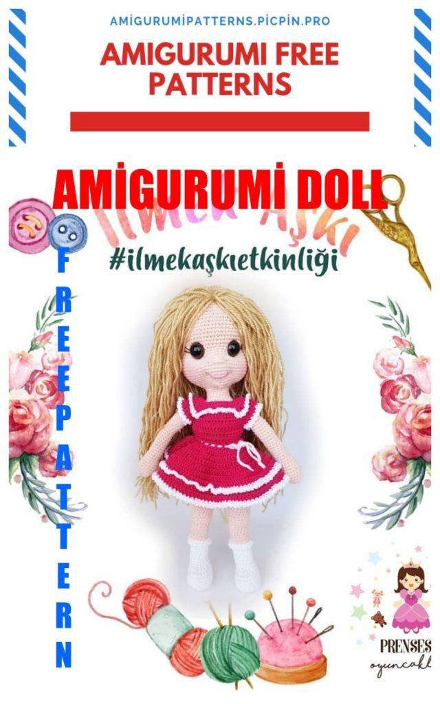 Amigurumi Doll Ece Free Crochet Pattern