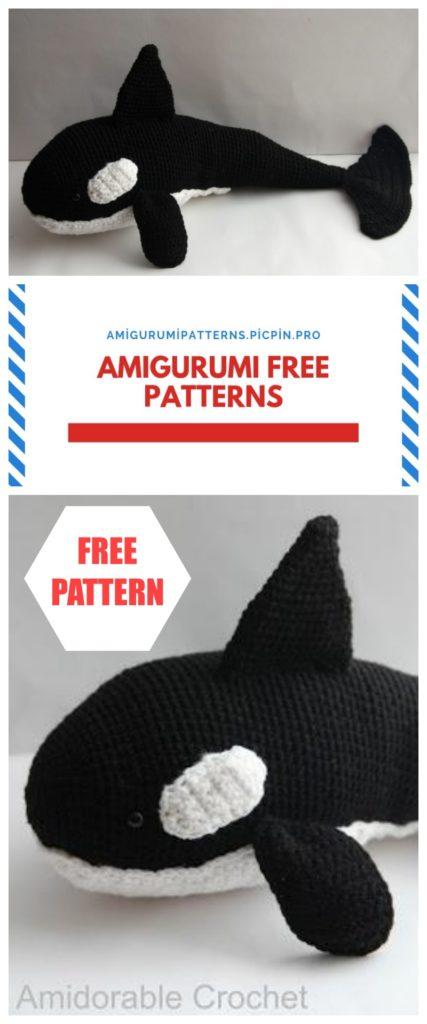 Amigurumi Whale Free Crochet Pattern