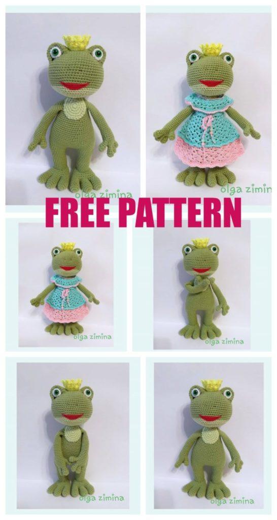 Amigurumi Frog Free Crochet Pattern