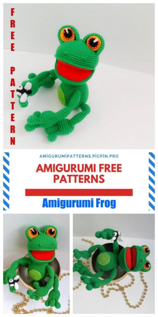 Amigurumi Sweet Frog Free Crochet Pattern